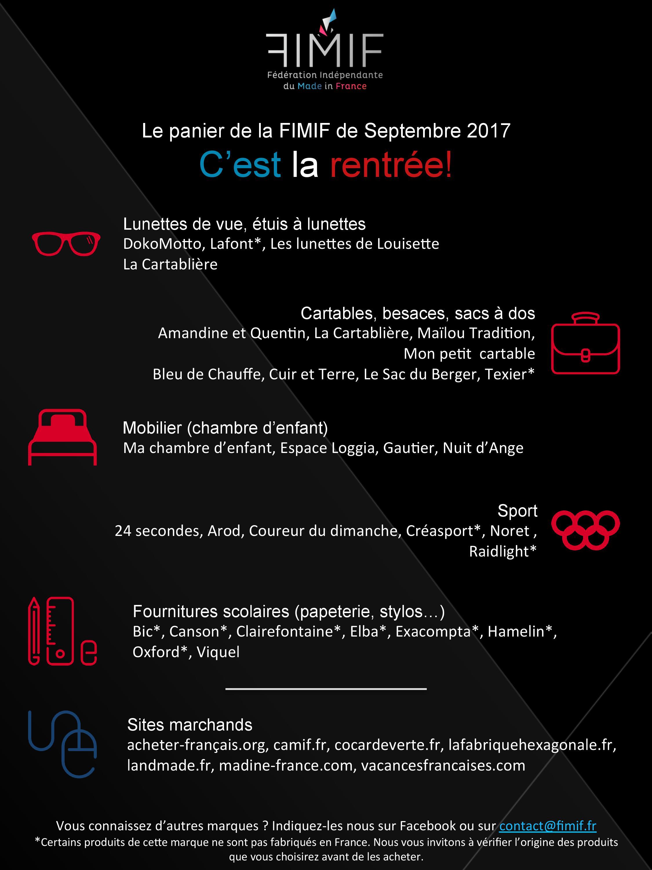 Fournitures Made Scolaires CartablesLunettes Et In FranceFimif SqzVpGjLUM